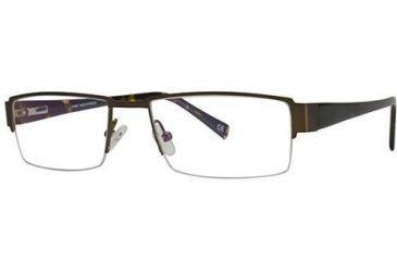 LAmy Laurent Bifocal Prescription Eyeglasses - Frame Semi-Matte Black/Tortoise LYLAURENT02