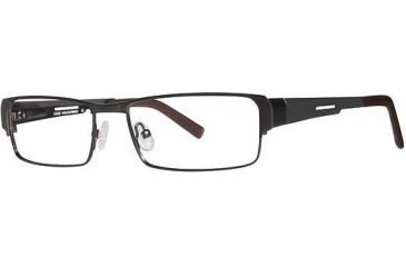 LAmy Marcel Progressive Prescription Eyeglasses - Frame Matte Brown, Size 54/16mm LYMARCEL03