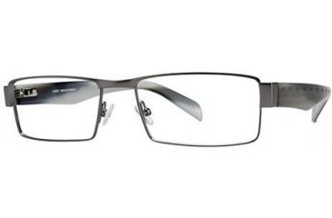 LAmy Panama 1013 Single Vision Prescription Eyeglasses - Frame Matte Gunmetal LYPANAMA101306