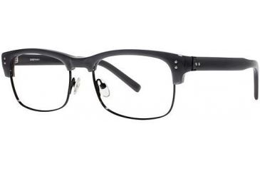 LAmy Sebastien Progressive Prescription Eyeglasses - Frame Grey/ Black, Size 53/17mm LYSEBASTIEN03