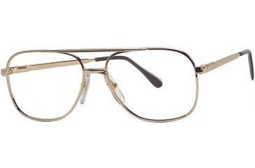 LAmy Westport Bifocal Prescription Eyeglasses - Frame Gold, Size 53/15mm LYWST0MC021555