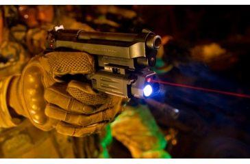 Laser Devices DBAL-PL Red Laser, Desert Tan, Red- Class IIIa, IR -Class I 9022
