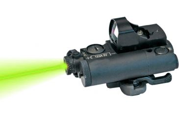 Laser Devices ITAL-A Tactical Aiming Laser, Visible Green Pointer, Black 19136