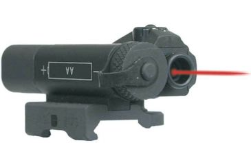 Laser Devices OTAL Offset Tactical Aiming Laser Sights for M4, AR 15 and M16 Rifles with AA Battery, Right Angle Connector and 6'' Cable Switch