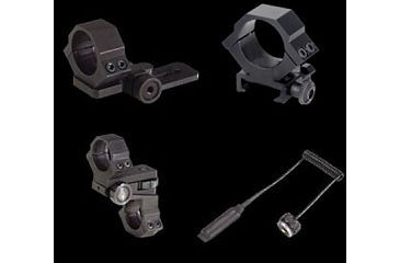 Laser Genetics ND3x50 Accessory Scope Rings