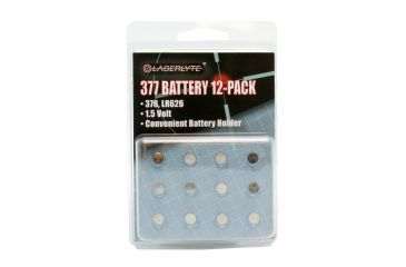 LaserLyte 377 Battery 12-Pack Replacement Batteries RL-1