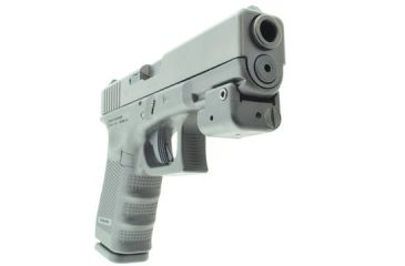 LaserLyte New V4 Laser: Fits All Railed Pistols, Black FSL-4