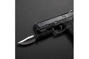 LaserLyte Pistol Bayonet: Serrated PB-3