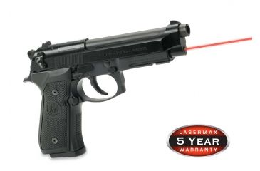 2-LaserMax Green Laser Sight for Beretta 92, 96 and Taurus 92, 99, 100, 101