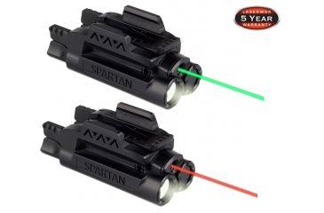 Lasermax Spartan Adjustable Fit Laser Light Combo Sps C G