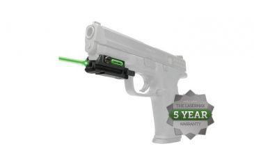 6-LaserMax Uni-Max Picatinny Rail Mounted Lasersight, Green