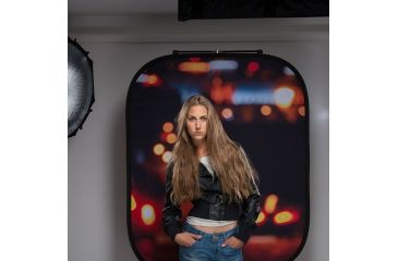 Lastolite Camera Lighting Equipment Out of Focus 4'x5' Background Summer Foliage/City Lights LL LB5730