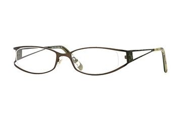 Laura Ashley Addison SELA ADDI00 Bifocal Prescription Eyeglasses - Caramel Apple SELA ADDI005435 BN