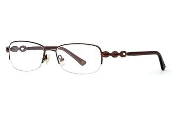Laura Ashley Aerin SELA AERI00 Eyeglass Frames - Dark Roast SELA AERI005330 BN