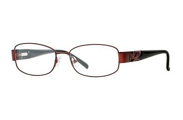 Laura Ashley Anya SELA ANYA00 Progressive Prescription Eyeglasses - Bordeaux SELA ANYA005335 BUR