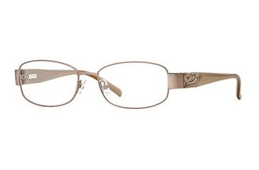 Laura Ashley Anya SELA ANYA00 Progressive Prescription Eyeglasses - Honey SELA ANYA005335 BN
