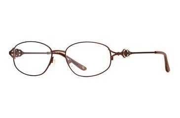 Laura Ashley Ashlyn SELA ASHL00 Single Vision Prescription Eyewear - Sienna SELA ASHL005235 BN