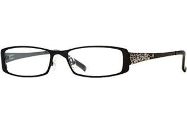 Laura Ashley Nicola SELA NICL00 Eyeglass Frames - Black SELA NICL005130 BK