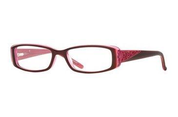 Laura Ashley Secret Wish SELG SECR00 Eyeglass Frames - Ruby SELG SECR004620 BUR