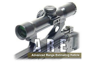 Leapers Accushot T28 Reticle Intensified Tactical Scope with Bullet Drop Compensator SCP-T28