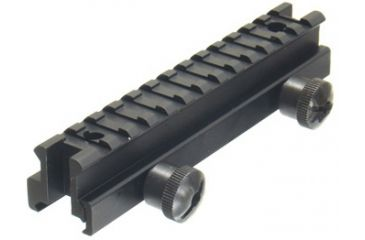 Leapers AR-15 Deluxe Riser Mount with Picatinny and STANAG Dimension -Not See-thru MNT-A95