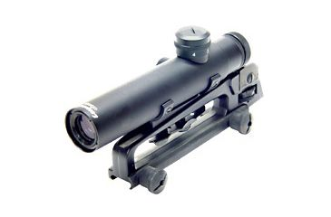 Leapers Golden Image 4x20 Mini Size AR-15 Scope with Bullet Drop Compensator SCP-420M