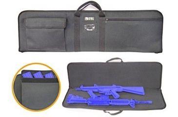 Leapers Homeland Security KIS 38'' Covert Gun Case PVC-KIS38B2