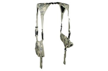 Leapers Deluxe Universal Horizontal Shoulder Holster - Army Digital