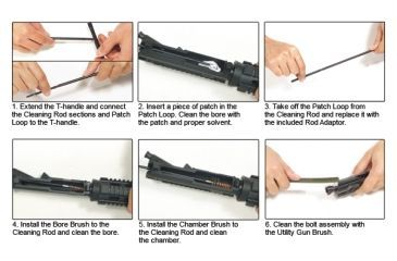 Leapers Model 4/15 Gun Cleaning Kit TL-A041