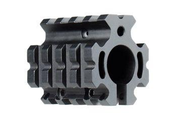 Leapers UTG Pro Model 4/15 Low-Profile Quad-Rail Gas Block for .75in Barrel MTU012