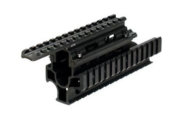 Leapers New Gen UTG Model 47 2-Piece Tactical Quad Rail Interlocking System MNT-HG479SA