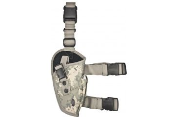 Leapers New Gen Elite Tactical Leg Holster, Right Hand, Army Universal Digital Camo PVC-H168R