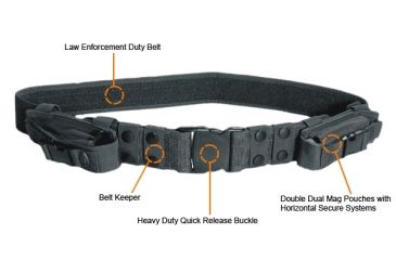 Leapers UTG  Heavy Duty Elite Police. Duty Belt, Army Digital PVC-B950R-A