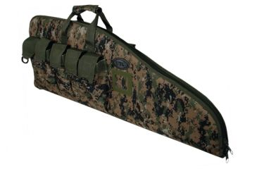 Leapers DC Series 42in Tactical Gun Case, Woodland Digital PVC-DC42E-A