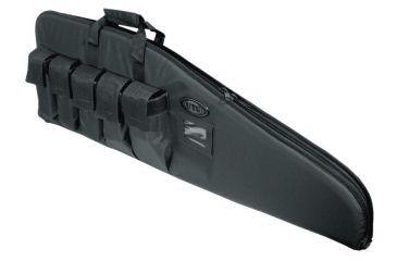Leapers DC Series 46in Tactical Gun Case, Black PVC-DC46B-A