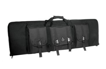Leapers Combat Web 38in Gun Case, Black