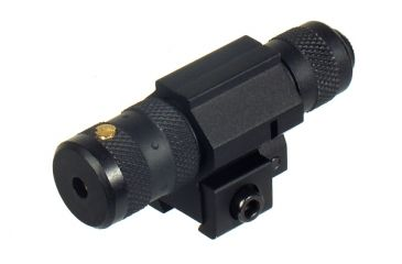 1-Leapers UTG Combat Tactical W/E Adjustable Red Laser Sight w/ Airgun/.22 Tactical Ring - DEMO