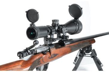 Leapers UTG 3-9X50 AO Zero Lock Illumianted Rifle Scope w/ RGB Mildot Reticle