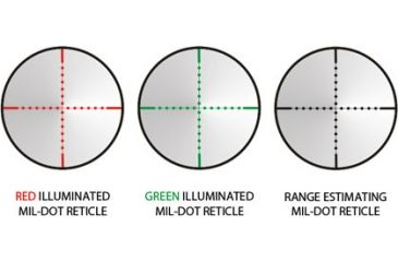 Leapers TF3 SWAT SCP3-E3124AOMDL Mildot Reticles