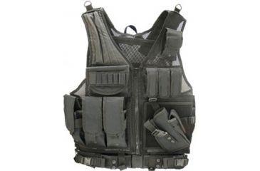 Leapers UTG Sportsman Tactical Scenario Vest - Black PVC-V568BT