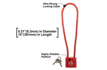 Leapers UTG Ultra Strong Firearm Cable Lock TL-GLK01