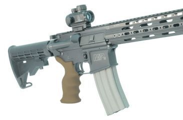 Leapers UTG Model 4/AR15 Combat Sniper Pistol Grip, Flat Dark Earth, _x000D_ RB-TPG172D