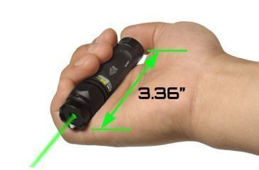 Leapers UTG Tactical Green Laser Sight w/ Mounting Ring SCP-LS279