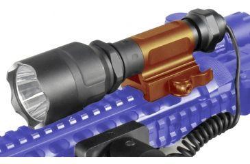 Leapers UTG Long Range Spot LED Flashlight Mount Highlighted LT-ELF240