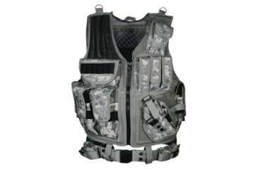 Leapers Deluxe Tactical Vest, Army Digital Camo - PVC-V547RT