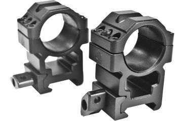 Leapers UTG Max Strength Picatinny Rings, 2pc, 1in, High Profile, Full Size RG2W1206