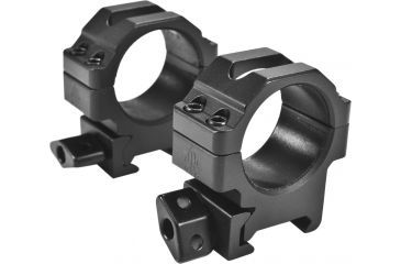 Leapers UTG Max Strength Picatinny Rings, 2pc, 30mm, Low Profile, RG2W3104