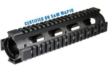 Leapers UTG PRO AR Style Model 308 2Piece Drop-in Mid Length Quad Rail System, MTU018