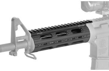 Leapers UTG PRO M4/AR15 Car Length Drop-in Quad Rail with Extension, MTU001T