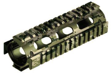 Leapers UTG Pro Model 4/15, Rifle Length Quad Rail System, ACU, Anodizing MTU001R